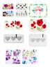 Small Serving Tray Modena Poppy Beach Hearts Design Plastic Rectangle Party Tray