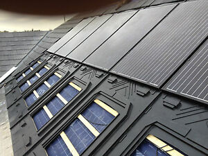 GSE Solar PV Roof Integrated (in-roof) Mounting System for 2 Panels