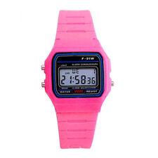 F-91w Alarm Chronograph Classic Digital Rubber Strap Sport Watch Wristwatches