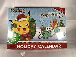 Pokemon Holiday Advent Calendar 24 Gifts BRAND NEW SEALED Box Damage