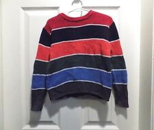 The Children's Place Boys Sweater long sleeve size XS 4 multi color