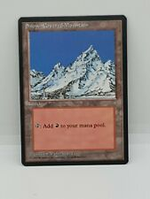 NM Snow-Covered Mountain Ice Age Land MtG Magic The Gathering 1995