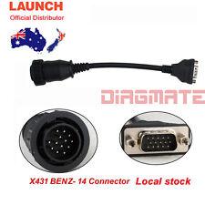 Original LAUNCH X431 BENZ-14 for PRO3 PRO SCANPAD PAD2 PAD IDIAG MASTER AU stock