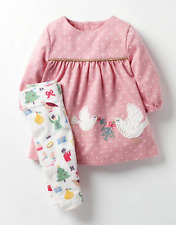 d4628c39bf9 BABY GIRLS MINI BODEN dress leggings outfit 3 6 12 18 24 months