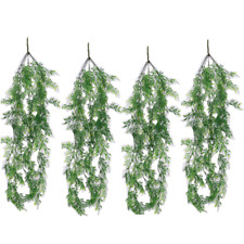 2x Artificial Hanging Vine Plants Fake Greenery Ivy Garland Photography Decor