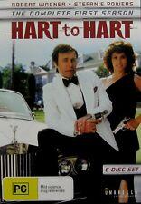 Hart To Hart: Season 1 (DVD, 6-Disc Set) Robert Wagner Stephanie Powers **New**