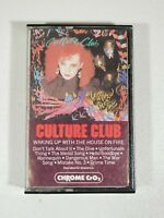 Culture Club Waking Up With The House On Fire/100% Play Tested/Cassette/Tape