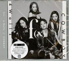 F(X)-4 WALLS / COWBOY-JAPAN CD B63