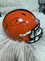 Odell Beckham Signed Cleveland Browns Full Size Speed Authentic Helmet- JSA Cert