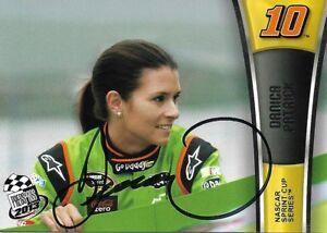 2013 Press Pass #36 Danica Patrick Signed Auto NASCAR Trading Card