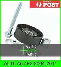 Fits AUDI A6 4F2 2004-2011 - V-Ribbed Drive Belt Pulley Idler Kit
