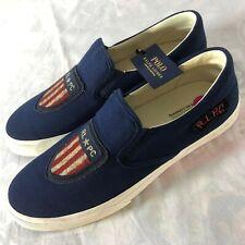 Polo Ralph Lauren Thompson USA Flag Shield Men's Size 11 R.L.P.C. Shoes NEW