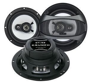 Crunch GTI62 16,5 cm 2-Wege-Lautsprecher 180 Watt (RMS: 90 Watt)
