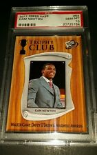 "2011 Press Pass #54- Cam Newton ""Trophy Club"" Rookie Card! PSA GEM MINT 10!"