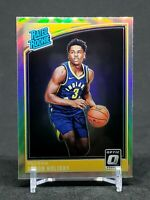 2018-19 Optic Aaron Holiday RC, Silver Rated Rookie Holo Prizm, Pacers #176