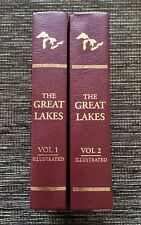 RARE 2-Volume 1999 History of the Great Lakes with Illustrations, Freshwater