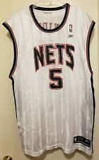 Vintage Reebok Jason Kidd NJ Nets Jersey MENS Size 2XL