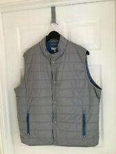 "Nwt~Peter Millar~""Crown "" Quilted Lightweight Vest~""Gale""~ Xxlarge~ Mrsp $165"