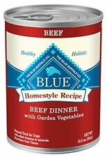Recipe Natural Adult Wet Dog Food Real Beef Dinner 12.5 Oz Package 12 Cans New