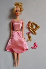 Growing Pretty Hair Barbie Mattel 1970 mit original Outfit und Haarteilen