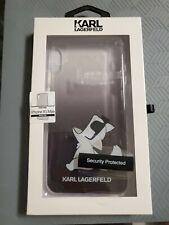 Karl Lagerfeld Designer Iphone XS Max Case Brand New