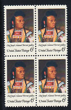 Chief Joseph (Nez Perce) Stamp Block of 4, Scott #1364, MNH