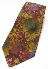 neck tie fabio's boutique men made in milano 100% silk floral