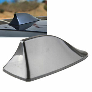 New Grey Universal Shark Fin Gills Car Dummy Antenna Aerial Roof Decor Fits BMW