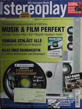 Stereoplay 12/02 Naim NAC, HGP Nightgale, Marantz SR 6300, NAD T 752, Cabasse Xo
