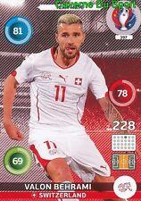 397 VALON BEHRAMI SWITZERLAND CARD ADRENALYN EURO 2016 PANINI