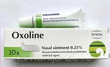 Oxoline Oxolin ointment nasal 0.25%   Oksolin 10 g Exp. date 2022