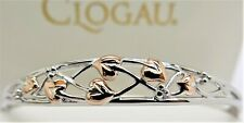 Clogau Silver & Rose Gold Tree of Life Bangle