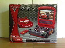 New Portable DVD Player Disney Cars 2 Lightning McQueen w/Headphones & Remote