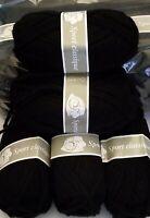 Paquet 20 Pelotes de Laine SPORT CLASSIQUE !! Coloris Noir