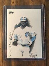 2009 Topps Sketch Card Derrek Lee Chicago Cubs