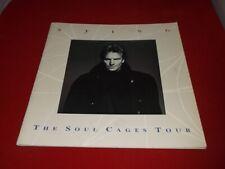 Sting:   Soul Cages Tour Programme