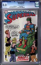 Superman (1939 1st Series) #223 Cgc 8.0