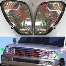 For Land Cruiser LC100 4500 4700 98-07 Car Front Bumper Turn Signal Lamp No Bulb