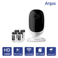 Reolink Argus 100% Wire-Free Wireless Battery Powered Security IP Camera Monitor