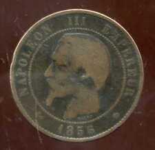 FRANCE  FRANCIA   10 centimes NAPOLEON III   1856  MA   (5)