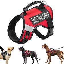 Reflective Nylon Dog Training Harness Emotional Support Mesh Dog Vest Labrador