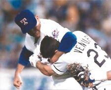NOLAN RYAN & ROBIN VENTURA FIGHT 8X10 PHOTO TEXAS RANGERS PICTURE MLB BASEBALL