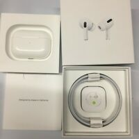 Apple AirPods Pro Bluetooth with Wireless Charging Case White MWP22AM/A