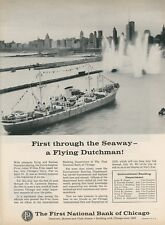 1959 Prinz Johan Willem Friso Dutch Freighter 1st Through St. Lawrence Seaway