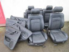 Lederausstattung VW Passat 35i Variant FACELIFT Sportsitze Sitze LEDER schwarz