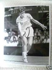 Tenis Foto De Prensa-Gabriela Sabatini en acción, reproductor de Argentina - 1991 de julio