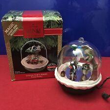 Hallmark Light and Motion Ornament Forest Frolics 1991