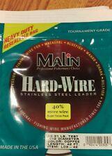 Malin SS Wire Cof 42' .012 Diameter 31Lb, LC3-42