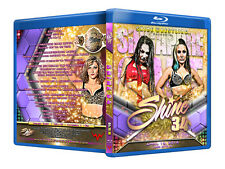 Official Shine Volume 34 Female Wrestling Event Blu-Ray