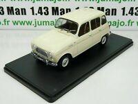 Coche 1/24 Salvat: Renault 4L (1964)